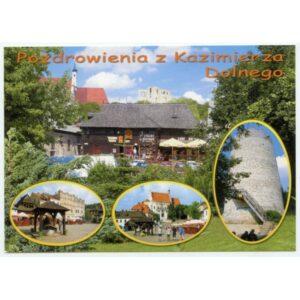 KAZIMIERZ DOLNY WIDOKÓWKA WR1809