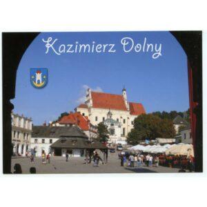KAZIMIERZ DOLNY HERB WIDOKÓWKA WR1817