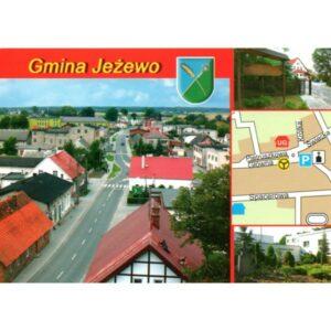 JEŻEWO GMINA HERB MAPKA WIDOKÓWKA WR892