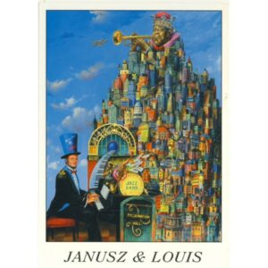 LOUIS ARMSTRONG POCZTÓWKA 04618