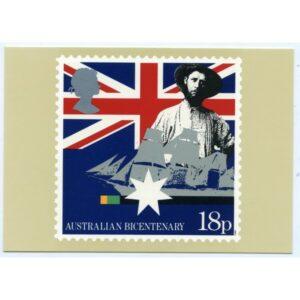 AUSTRALIAN BICENTENARY POCZTÓWKA A2720