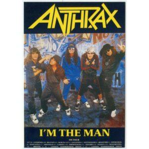 ANTHRAX I'M THE MAN POCZTÓWKA WR2341
