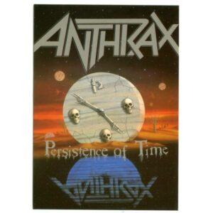 ANTHRAX PERSISTENCE OF TIME POCZTÓWKA WR2340