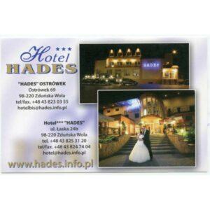 ZDUŃSKA WOLA HOTEL HADES WIDOKÓWKA A3294
