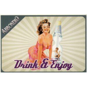 DRINK ABBONDIO PIN UP GIRL POCZTÓWKA REKLAMOWA WR2854