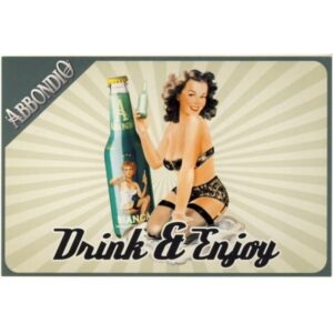 DRINK ABBONDIO PIN UP GIRL POCZTÓWKA REKLAMOWA WR2855