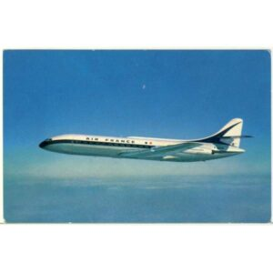 SAMOLOT AIR FRANCE WIDOKÓWKA A3755