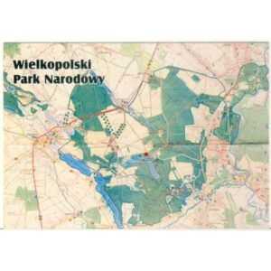 WIELKOPOLSKI PARK NARODOWY MAPKA A4114