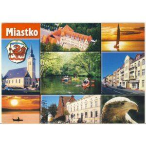 MIASTKO HERB WIDOKÓWKA A4219