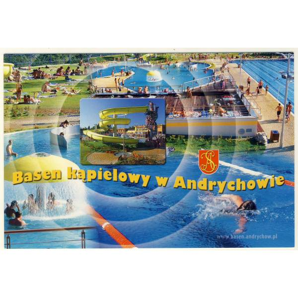 ANDRYCHÓW HERB WIDOKÓWKA A5650