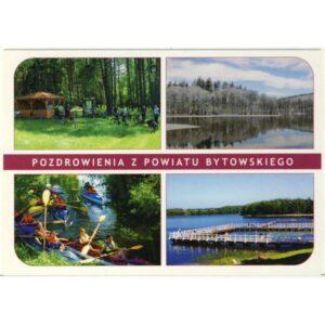 BYTÓW POWIAT BYTOWSKI WIDOKÓWKA A5745