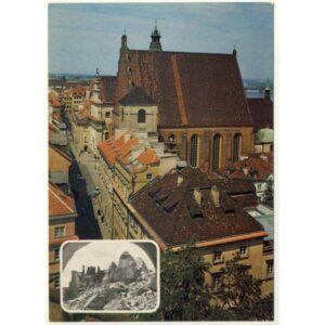 WARSZAWA KATEDRA 1945-1979 WIDOKÓWKA A5658