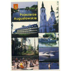AUGUSTÓW POJEZIERZE AUGUSTOWSKIE WIDOKÓWKA A5921