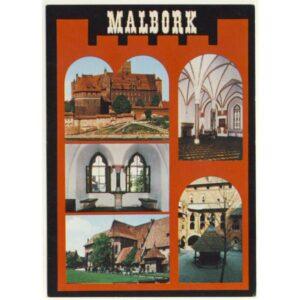 MALBORK WIDOKÓWKA A6277