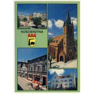 KOŚCIERZYNA HERB WIDOKÓWKA A6037