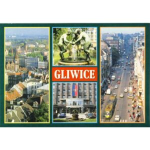 GLIWICE WIDOKÓWKA WR4817