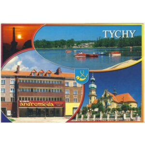 TYCHY HERB WIDOKÓWKA WR4889