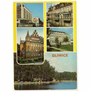 GLIWICE POCZTÓWKA A7629