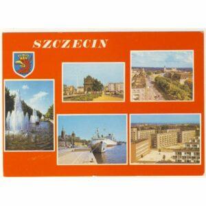 SZCZECIN HERB WIDOKÓWKA A7982