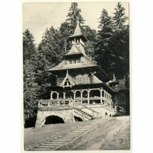 TATRY JASZCZURÓWKA WIDOKÓWKA A8188