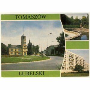 TOMASZÓW LUBELSKI WIDOKÓWKA A8273