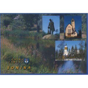 ŁAŃCUT GMINA HERB SONINA A972
