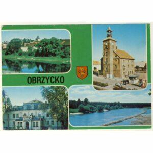 OBRZYCKO HERB WIDOKÓWKA A8942
