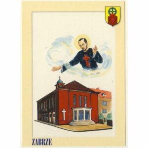 ZABRZE HERB POCZTÓWKA A9112