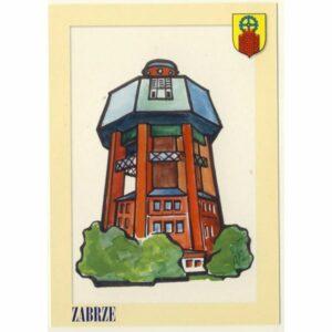 ZABRZE HERB POCZTÓWKA A9113