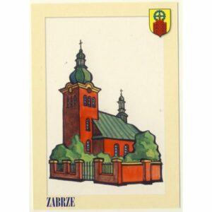 ZABRZE HERB POCZTÓWKA A9114