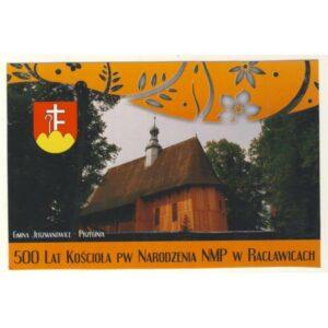 JERZMANOWICE PRZEGINIA RACŁAWICE KOŚCIÓŁ HERB WIDOKÓWKA A9635