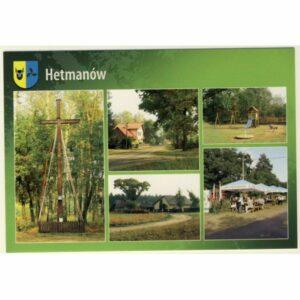 HETMANÓW PRZYGODZICE HERB WIDOKÓWKA A9666