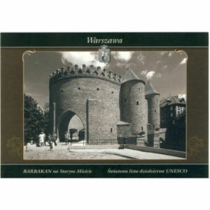WARSZAWA HERB WIDOKÓWKA WR5788
