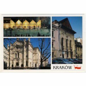 KRAKÓW KAZIMIERZ POCZTÓWKA WR5812