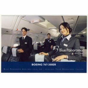 SAMOLOT BLUE PANORAMA AIRLINES BOEING WIDOKÓWKA A11280