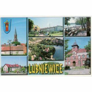 LUBNIEWICE HERB WIDOKÓWKA A11334