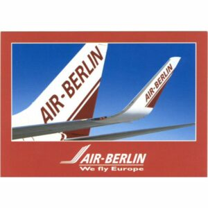 SAMOLOT AIR BERLIN WIDOKÓWKA A11525