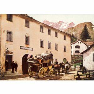 BERN PPT MUSEUM 1890 SIMPLON DORF POCZTÓWKA A11650
