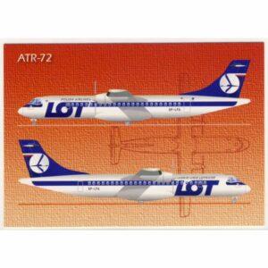 SAMOLOT ALENIA ATR-72 WIDOKÓWKA A11261