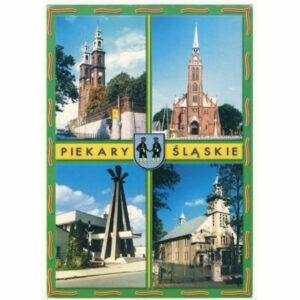 PIEKARY ŚLĄSKIE HERB WIDOKÓWKA A14591