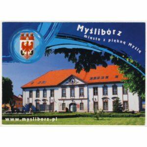 MYŚLIBÓRZ HERB WIDOKÓWKA A16353