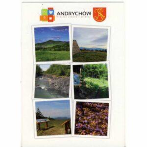 ANDRYCHÓW HERB WIDOKÓWKA A17289