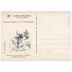 LUBLIN KARTKA POCZTOWA A17304