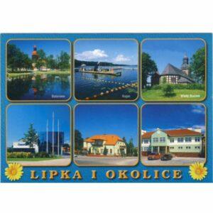 LIPKA I OKOLICE WIDOKÓWKA A17472