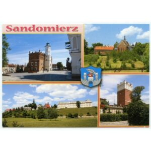 SANDOMIERZ HERB WIDOKÓWKA WR1635