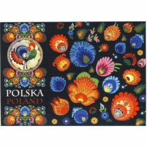 POCZTÓWKA FOLKLOR POLSKA CZ-PF-18