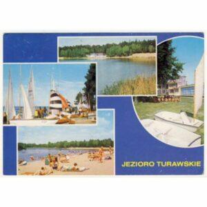 TURAWA JEZIORO TURAWSKIE WIDOKÓWKA A17937