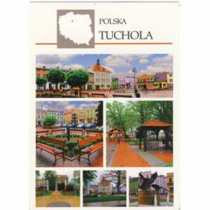 TUCHOLA MAPKA WIDOKÓWKA WR6167