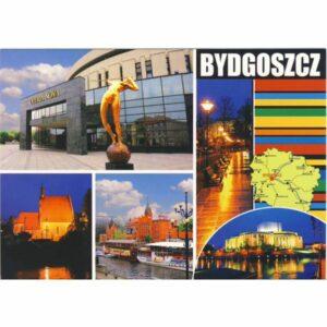 BYDGOSZCZ MAPKA WIDOKÓWKA WR6169