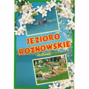JEZIORO ROŻNOWSKIE WIDOKÓWKA WR6221